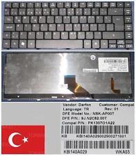 CLAVIER QWERTY TURQUE ACER ASPIRE 4540 5935 NSK-AP00T KB.I140A.029 Noir BACKLIT