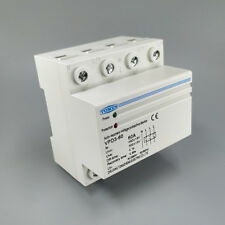 60A 380V~ Three Phase Din rail over voltage and under voltage protective device