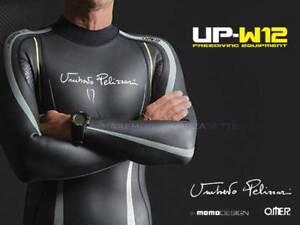 Wetsuit Apnea And Triathlon 2mm Size 6 Omer UP-W12 By Pelizzari Freediving