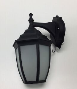 LED Wall Sconce Lantern for Porch Black Used