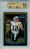 Tom Brady 2000 Bowman Chrome #236 RC * BGS 9.5 GEM MINT