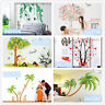 Coconut tree Home Room Decor Removable Wall Stickers Decal Decoration
