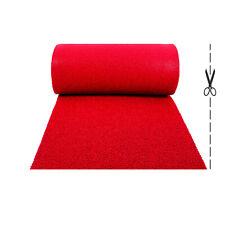 Olivo.Shop, Twist Rosso, tappeto antiscivolo in ricciolo vinilico per esterno