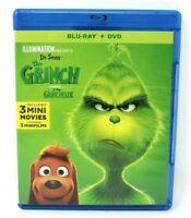 The Grinch (Bilingual) Blu-ray + DVD (2018) REGION FREE BLU-RAY