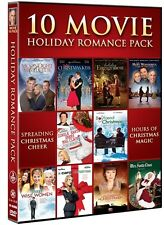 10 MOVIE HOLIDAY ROMANCE PACK New DVD Christmas Kiss Engagement Mrs Santa Claus
