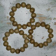 Lot 3 Pcs 19 MM Nice Stripes Aquilaria Agarwood Bracelets Aloeswood 13 Beads #B