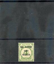 MALAYA, JAPAN OCC Sc NJ10(SG JD30)**VF NH 1942 4c GREEN, POSTAGE DUE, $90