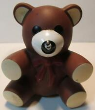 Brown Bear Squeaky Toy @ 3 inches 1985 Ross Laboratories