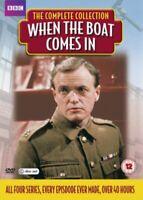 Cuando Los Barcos Vienen En Serie 1A 4 Colección Completa DVD Nuevo DVD (AV3323)