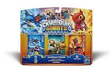 Skylanders Giants-pack - Scorpion Striker Zap Hot Dog Wii Ps3 Xbox 360 3ds Wi
