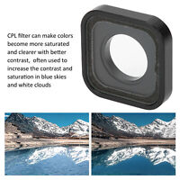 Action Camera Polarizer Lens Protection Cover CPL Filter for Gopro Hero9 Useful