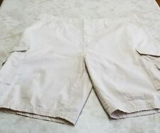 Beverly Hills Polo Club Men's Cargo Shorts Beige Size 42