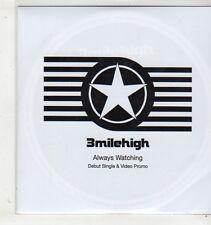 (GC600) 3milehigh, Always Watching (debut) + Video - 2006 DJ CD