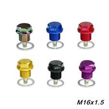 M16*1.5 Magnet Ölablassschraube mit Unterlegsche Drain Ölwanne Plug Crush Washer