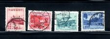 1950-53 RYUKYU-JAPAN 4-Stamp Lot SC#A5 & A9
