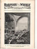 1906 Harpers Weekly May 19 - San Francisco Earthquake - Stanford destruction