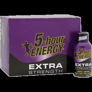 5 Hour Energy, Extra Strength, Grape, 12/Count