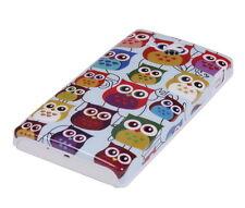 Hülle f Sony Xperia U ST25i Schutzhülle Tasche Case Cover Owl kleine Eule bunt