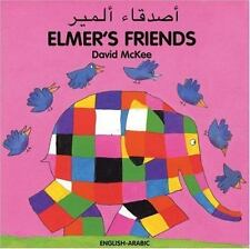 Elmer: Elmer's Friends by David McKee (2004, Board Book, Bilingual)