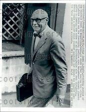 1969 Massachusetts Judge James Boyle Ted Kennedy Case Press Photo