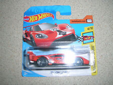 HOT WHEELS LEGENDS OF SPEED 2016 FORD GT RACE IN ORANGE RARE SHORT CARD