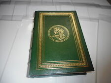 Franklin Mint Library Leather Bound Book - EURIPIDES PLAYS