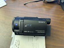 Sony Handycam FDRAX33/B Camcorder - Black