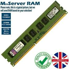 2GB 4GB Memory RAM 4 Micro Server PC3-10600E DDR3 1333MHz 240 ECC Unbuffered Lot