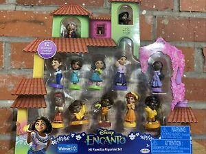 Disney's Encanto Movie Walmart Exclusive Mi Familia 12 Toy Figure Set Figurines