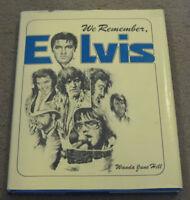 Elvis Presley We Remember Elvis Book Wanda June Hill RARE 1978