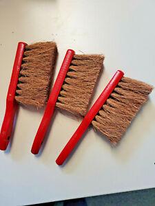 3 x Handbesen --- Kokos -- Sonderposten
