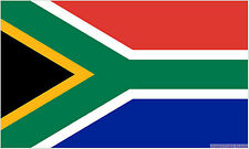 "SOUTH AFRICA BUDGET FLAG small 9""x6"" GREAT FOR CRAFTS AFRICAN"