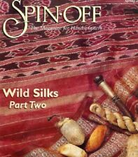 Spin-off magazine Spring 2000: knit afghan, blankets; wild silks pt2 ~ Last One