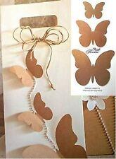 Bomboniera Farfalle Assortite Avana decorazione - n 30 pz - art 35507C