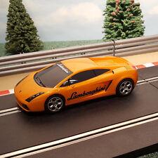 Scalextric 1:32 Car - Orange Lamborghini Gallardo (with 'Lamborghini' logo) #M