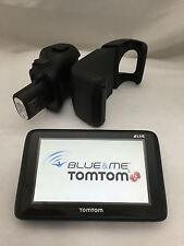 TOMTOM GO 1000 LIVE 2 BLUE & E ME ORIGINALE NAVIGATORE GPS PER  FIAT PUNTO