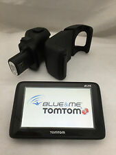 TOMTOM GO 1000 LIVE 2 BLUE & E ME ORIGINALE NAVIGATORE GPS PER AUTO FIAT