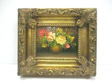"""Tableau, peinture  """" Pot de Fleurs """""""