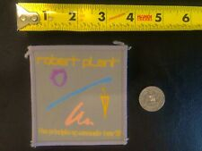 Robert Plant Principle Of Moments '83 Patch Led Zeppelin Big Log In The Mood