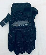 NWT Wilson Leather Biker Black Gloves Size XXL