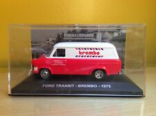 Ford Transit Brembo 1975 Altaya 1:43rd Scale in Display Case