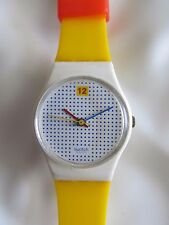 Swatch Dotted Swiss LW104 1985 Spring Summer Collection  Standard Ladies 25mm