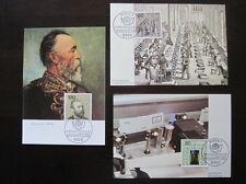 Bund,BRD Maximumkarte MiNr. 1215-1217 Ersttag Bonn gestempelt (B 225)