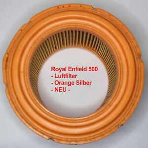 Royal Enfield 500 - Luftfilter - Orange Silber - 581007/a - Original