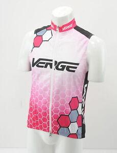 Verge Women's Wind Vest 2XL Pink/Red/White Brand New