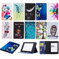 """For All-New 6"""" Amazon Kindle Paperwhite 2018 Flip Leather Armor Shell case cover"""