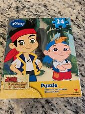 New Disney Jake and the Neverland Pirates 24 Piece Puzzle Disney Jr.