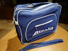 Borsone da viaggio ALITALIA 3 tasche - OLD BAG - vintage 60' 70'
