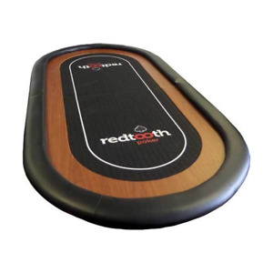 Redtooth Poker 8-Seat Speed Cloth Poker Table Top with Fold and Carry Case