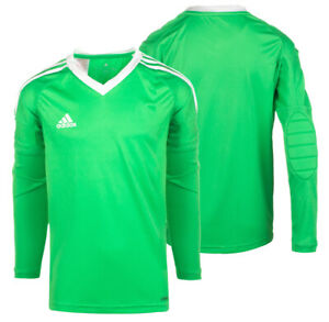 Adidas Boys Climacool Goalkeeper Padded Jersey Top Revigo17 GK Shirt New Sealed